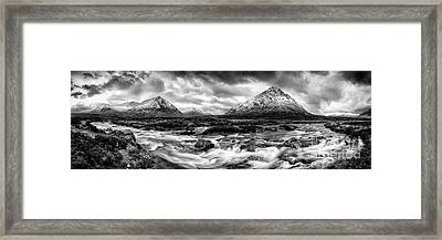 The Land Of Giants Framed Print