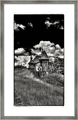 The Land Of Oz Is In The Palouse Framed Print