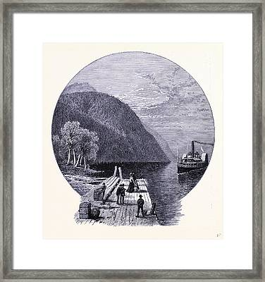The Landing Place For Owlshead United States Of America Framed Print