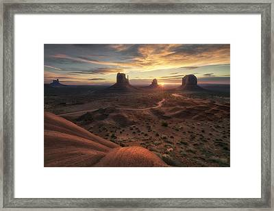 The Landscape Of My Dreams Framed Print