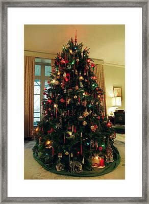 The Lane's Christmas Tree Framed Print