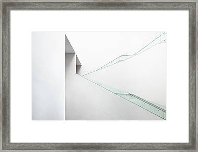 The Language Of Space Framed Print