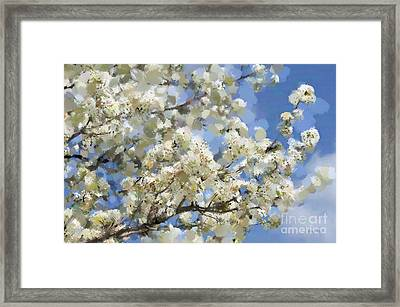 The Language Of Spring Framed Print