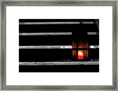 The Lantern Framed Print