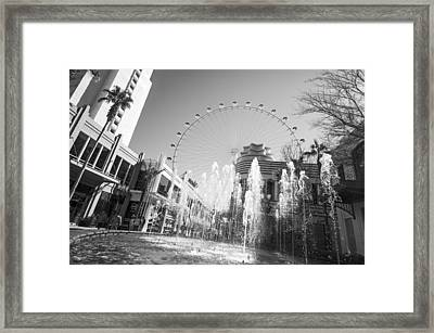 The Las Vegas High Roller Framed Print by Susan Stone