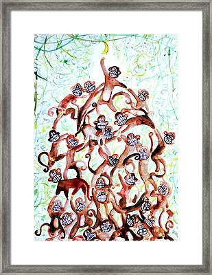 The Last Banana Framed Print by Fabrizio Cassetta