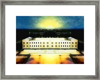 The Last Bastion Framed Print
