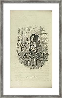 The Last Cabdriver Framed Print by British Library