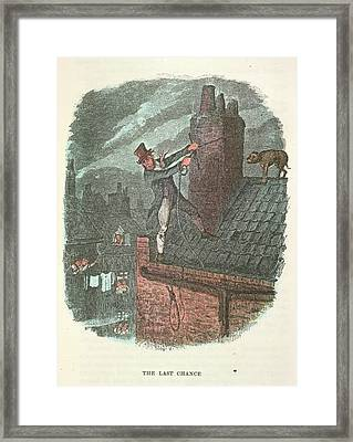 The Last Chance Framed Print by British Library