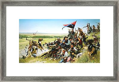 The Last Command Framed Print