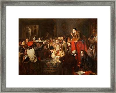 The Last Day Of The Sale Framed Print