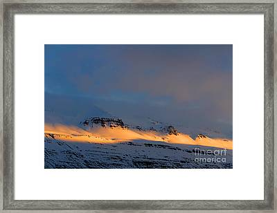 The Last Daylight Framed Print by Julia Fine Art And Photography