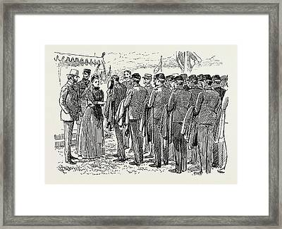The Last Days Of Wimbledon Camp, Uk Framed Print