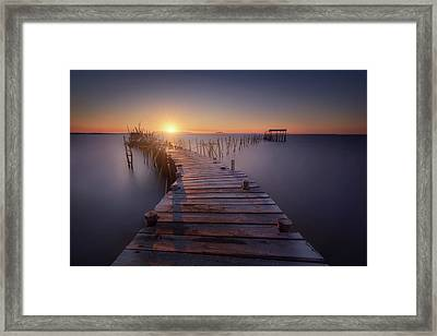 The Last Dock Framed Print