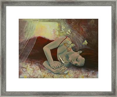 The Last Dream Before Dawn Framed Print by Dorina  Costras