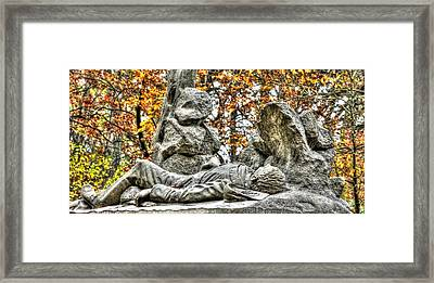 The Last Full Measure - Gettysburg National Military Park Autumn Framed Print