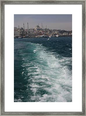 The Last Goodbye Framed Print by Frederic Vigne