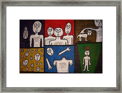 The Last Hollow Men Framed Print
