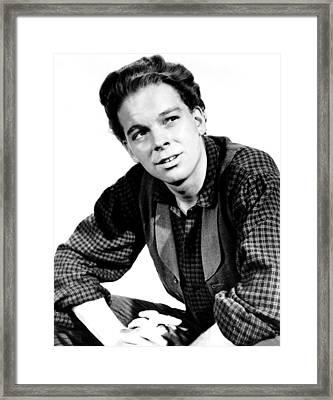 The Last Hunt, Russ Tamblyn, 1956 Framed Print
