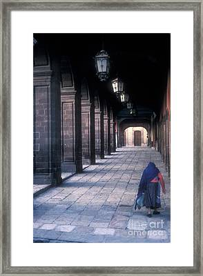 The Last Journey San Miguel De Allende Framed Print by John  Mitchell