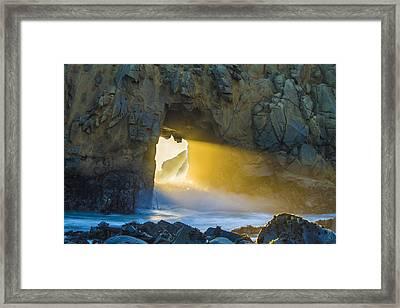 The Last Light Framed Print
