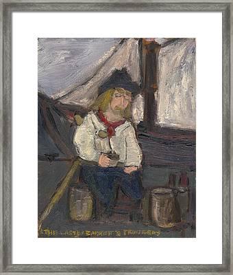 The Last Of Barrett's Privateers Framed Print