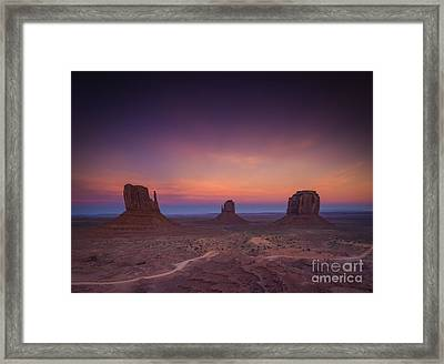 The Last Of Daylight Framed Print by Marco Crupi