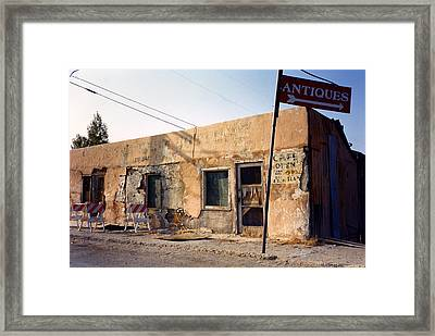 Framed Print featuring the photograph The Last Outpost by David Bailey