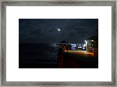 The Last Outpost Framed Print by Laura Fasulo