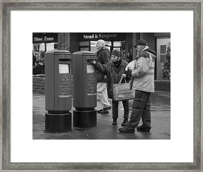The Last Post Framed Print
