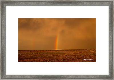 The Last Rainbow Framed Print