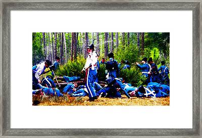 The Last Rally Framed Print by David Lee Thompson