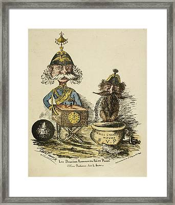 The Last Resources Of The King Of Prussia Framed Print by British Library