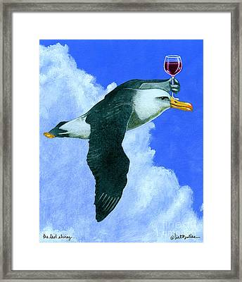 the last Shiraz... Framed Print