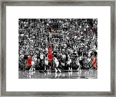The Last Shot 4 Framed Print
