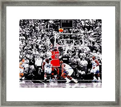 The Last Shot Framed Print