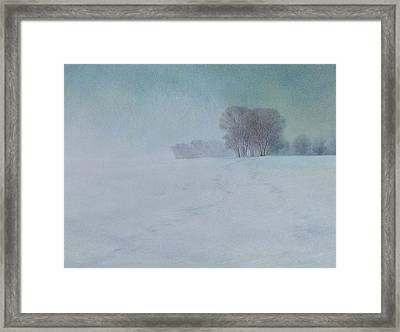 The Last Snow Framed Print by Lynn Bywaters