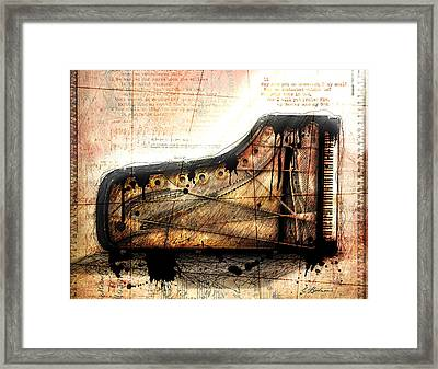 The Last Sonata Framed Print