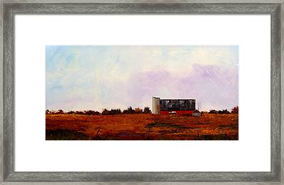 Framed Print featuring the painting The Last Stand by William Renzulli