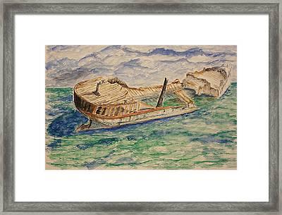 The Last Storm Framed Print by Paul Morgan