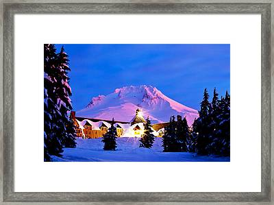 The Last Sunrise Framed Print