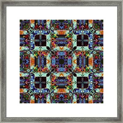 The Last Supper Abstract 20130130p0 Framed Print by Wingsdomain Art and Photography