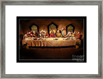 The Last Supper Framed Print by Blake Richards