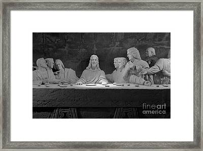 The Last Supper Framed Print by David Ricketts
