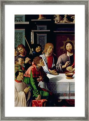 The Last Supper Framed Print by French School