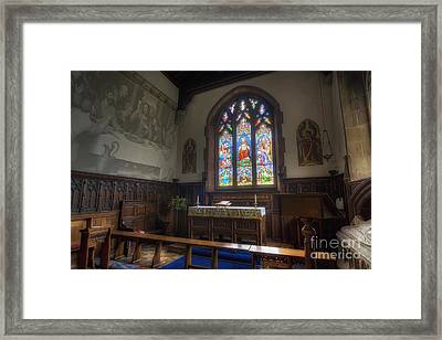 The Last Supper Framed Print by Ian Mitchell