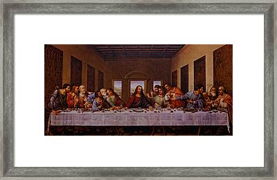 The Last Supper Framed Print by Jonathan Davison