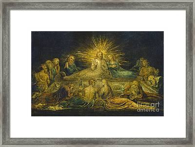 The Last Supper Framed Print by William Blake