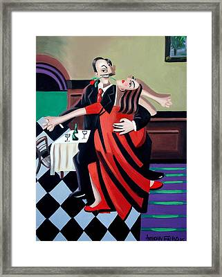 The Last Tango Framed Print by Anthony Falbo