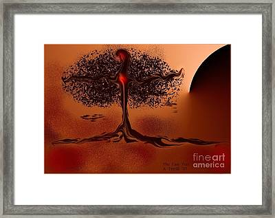The Last Tree Framed Print by The Art of Alice Terrill